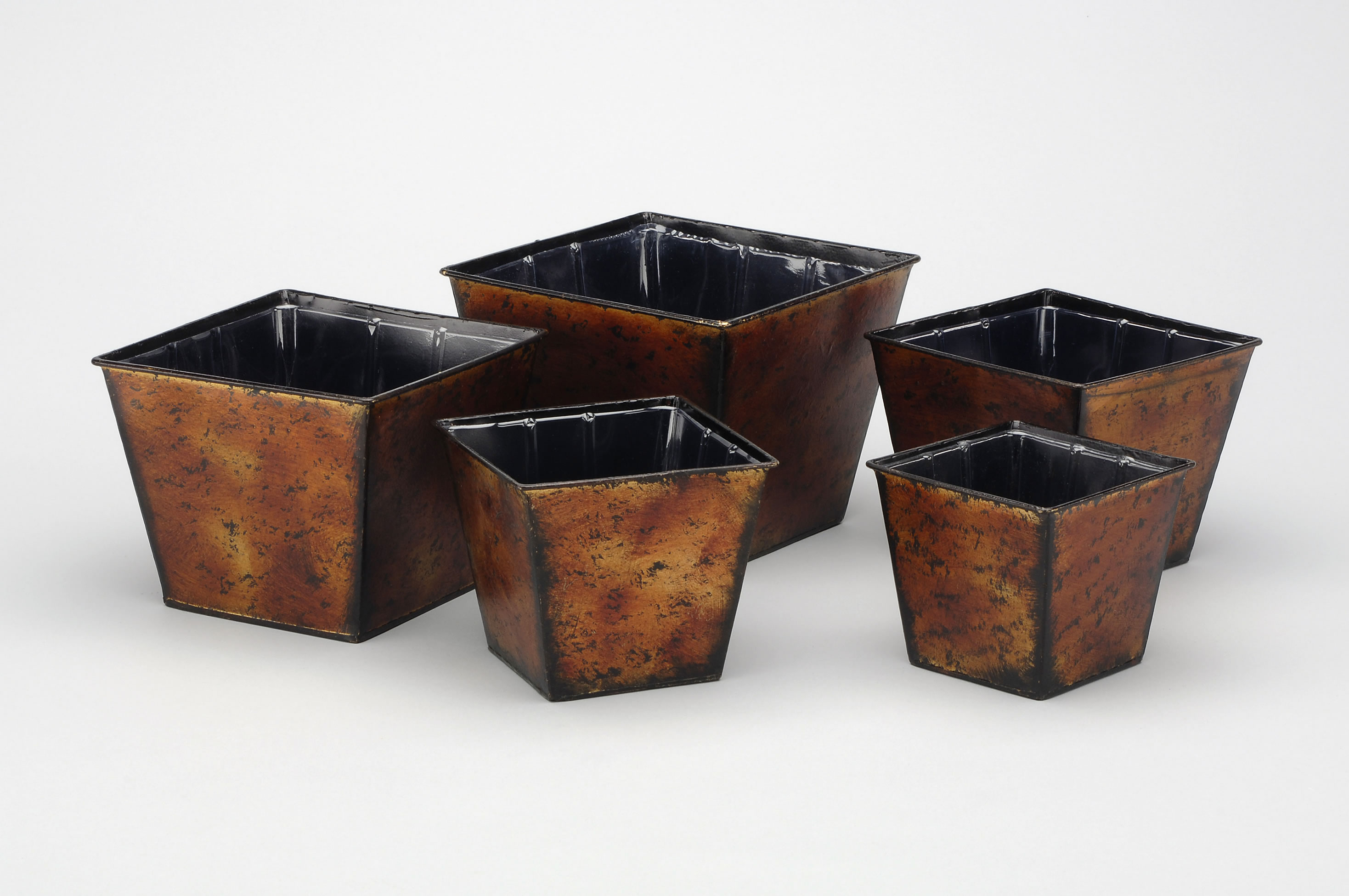 aa importing inc  we bring the world to you - h brown s h to h metal square tapered planter